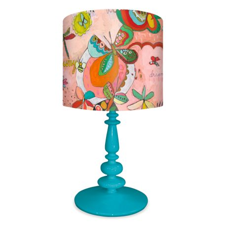 Quot Oh Sweet Butterflies Quot Kids Lamps With 6 Base Color
