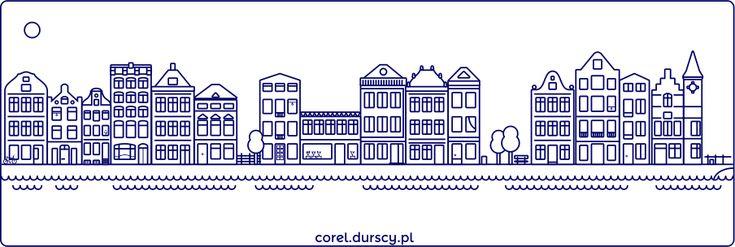 Amsterdam #corel_durscy_pl #durskirysuje #corel #coreldraw #vector #vectorart #illustration #draw #art #digitalart #graphics #flatdesign #flatdesign #icon #dom #domek #apartament #home #house #residence #apartments #amsterdam #holandia #holland #tryptyk #triptych