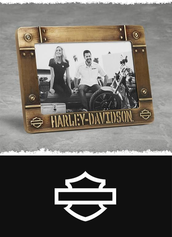 You made miles of memories all year long. | Harley-Davidson Bolted Metal Frame