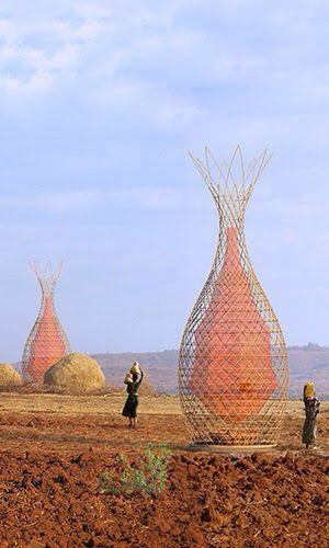 WarkaWater, a estrutura que gera 100 litros de água potável por dia