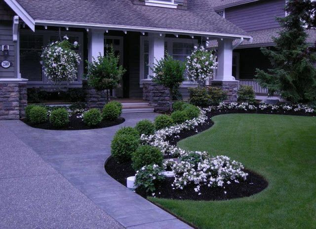 Front Yard Walkways Landscaping Ideas 2016                                                                                                                                                     More