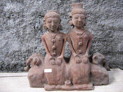 Terracotta one piece Loro Blonyo