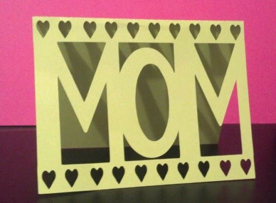 Cricut Birthday Cards Free ~ Free simple u cmomu d mother s day card cutting file svg knk and gsd