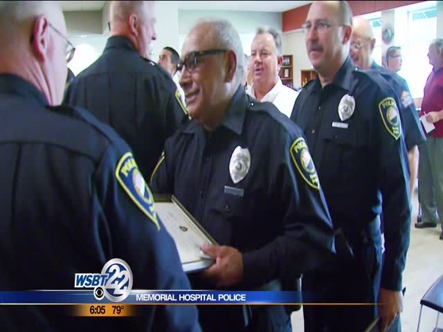 Memorial Hospital police officers sworn in | Videos and Photos - WSBT.com