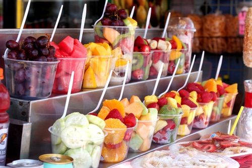 Yum. This would be cool for a frozen yogurt bar!