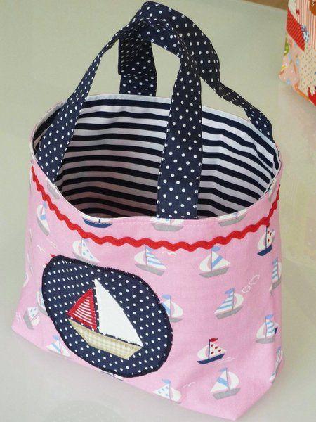 Kindertasche 'Segelboot' von ROXY. auf DaWanda.com