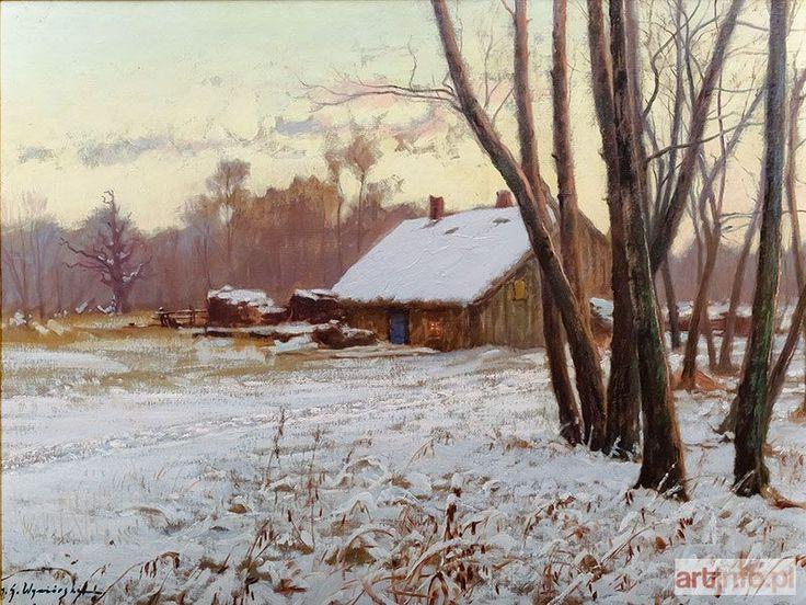 Michał WYWIÓRSKI GORSTKIN ● Zimą ●