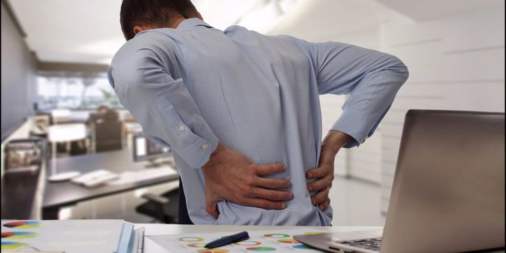 How to relieve back pain if you're sitting all day at work