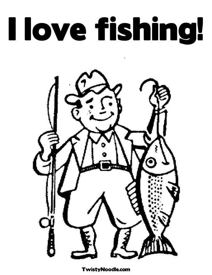 Fishing Coloring Pages 17