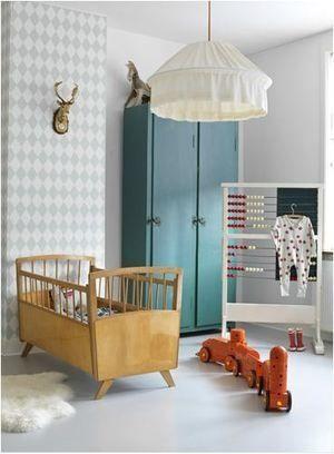 Een stoere babykamer!