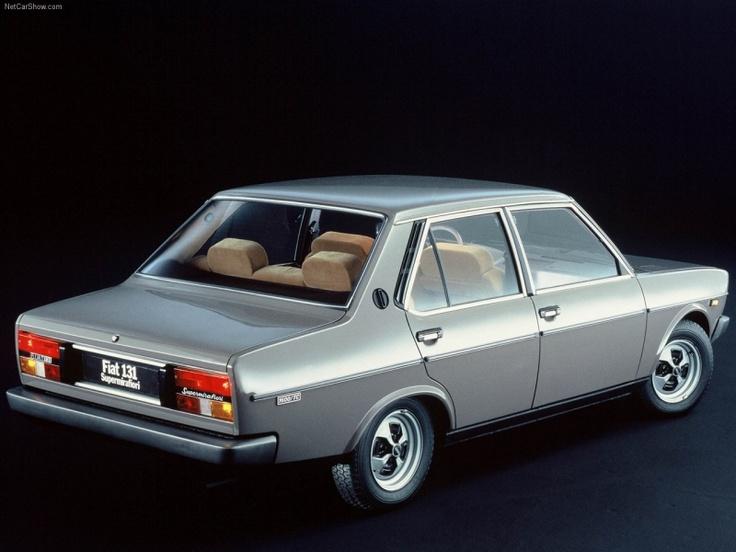 Forgotten Cars Part IV: Fiat 131 Mirafiori