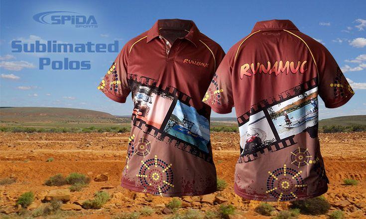 Sublimated Polo Shirts Review - Team Runamuc  #Sublimatedpolos #aboriginalclothing #Spidasports