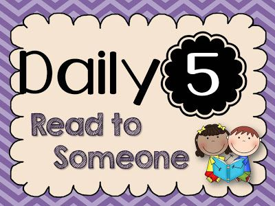 Daily 5- Read to Someone (LOTS of freebies!) - Toris Teacher Tips