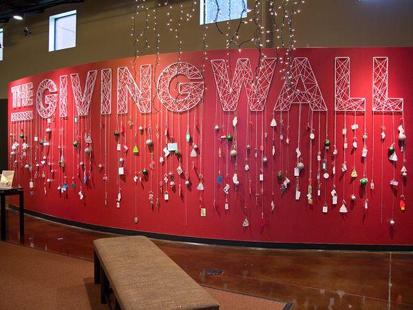 The Giving Wall 3D Wall Art by Taras Lesko via Behance