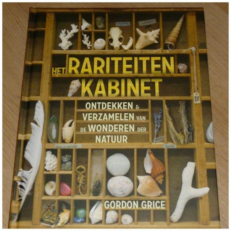 Het rariteitenkabinet Gordon Rice Van Goor natuur recensie review schatten schelpen zee-egels planten dieren zeesterren educatief schoonmaken bewaren