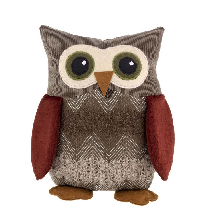 #sainsburys #autumndreamhome This woodland-inspired owl doorstep offers a fun way to prop open your door.  Priced at £12.