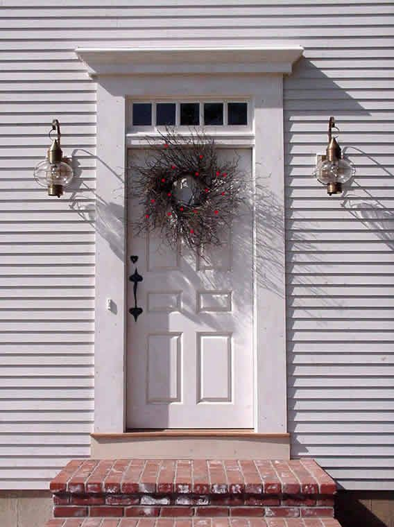 132 best images about front doors n 39 porches on pinterest for Colonial entry door