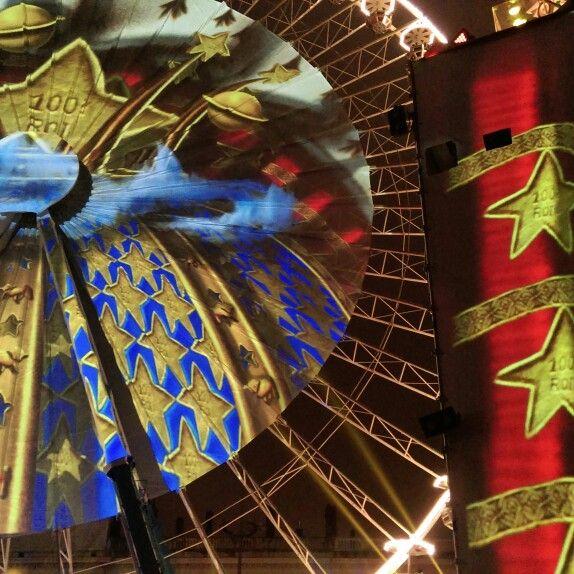 Place Bellecour, Festival of Lights, 2014.