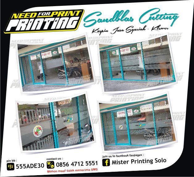 KamiMister Printing Solo,melayani pembuatan & pemasangan segala macam bentuk media promosi,Baik untuk kebutuhan luar ruang maupun dalam ruang meliputi : • Brosur / Flyer / Pamflet • Spanduk ...