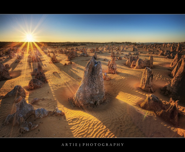 The Pinnacles, Cervantes, Nambung National Park, Western Australia :: HDR by Artie | Photography, via Flickr