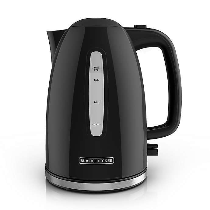 Black And Decker 1 7 Liter Rapid Boil Electric Kettle Electric