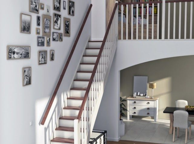 17 best images about escaliers on pinterest painted stairs lille and bye bye - Home staging escalier ...