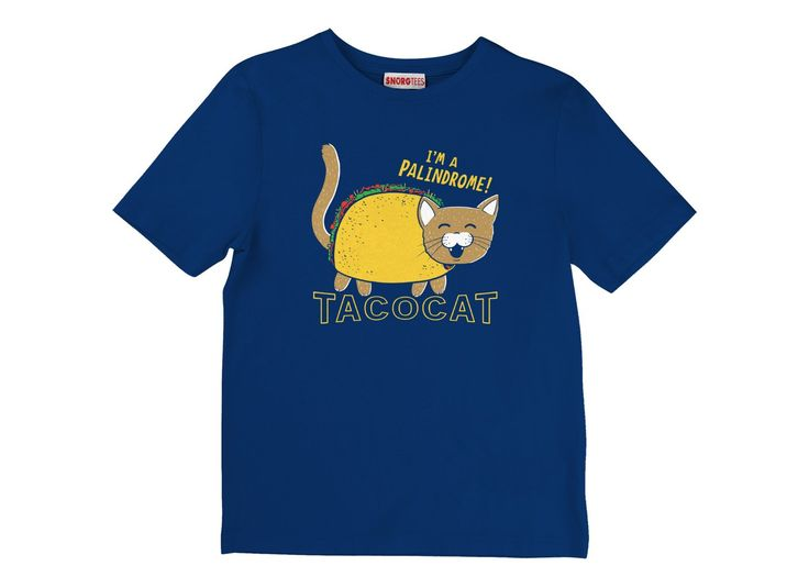 Taco Cat T-Shirt by SnorgTees. Men's and women's sizes available. Check out our full catalog for tons of funny t-shirts. Tees.