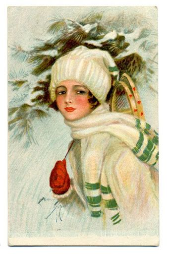 Vintage christmas - winter