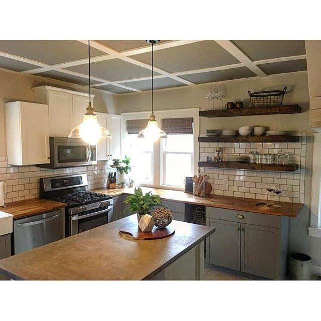 30 Inspirational Interior Design Color Schemes: Acier Paint Color SW 9170 By Sherwin-Williams. View