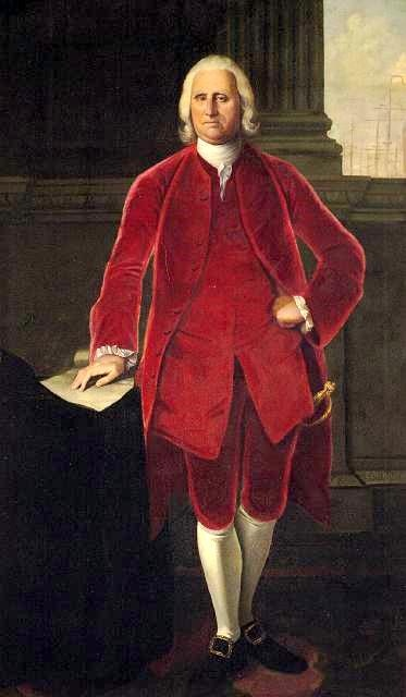 Cadwallader Colden (1688-1776). Lieutenant and acting Governor of New York, early figure of the American Enlightenment, loyalist.