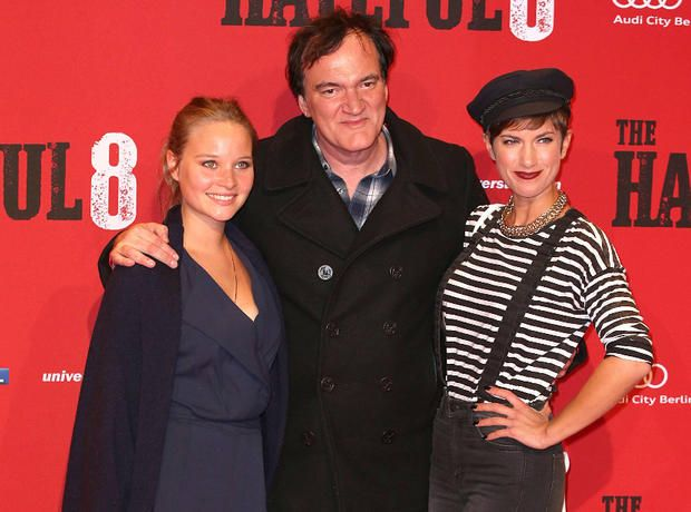 """Isabell Horn und Sonja Gerhardt treffen auf Quentin Tarantino bei """"The Hateful Eight""""-Premiere in Berlin"""