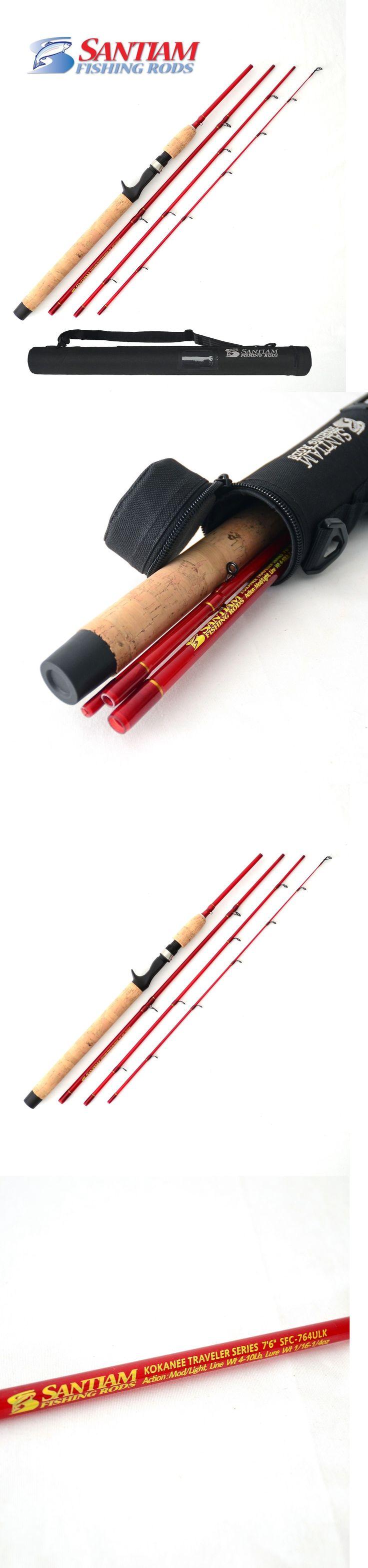 Travel Rods 179949: Santiam Fishing Rods 4 Pc 7 6 4-10Lb Ul Glass Kokanee Rod Usa Seller -> BUY IT NOW ONLY: $99.95 on eBay!