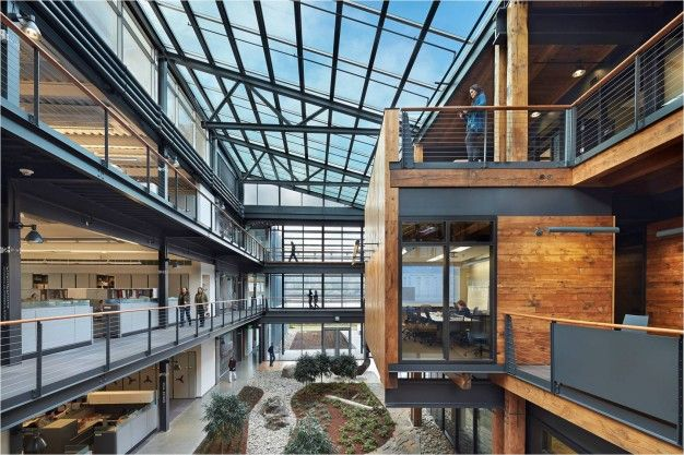 Federal Center South Building 1202 by ZGF Architects // Seattle | FUTU.PL