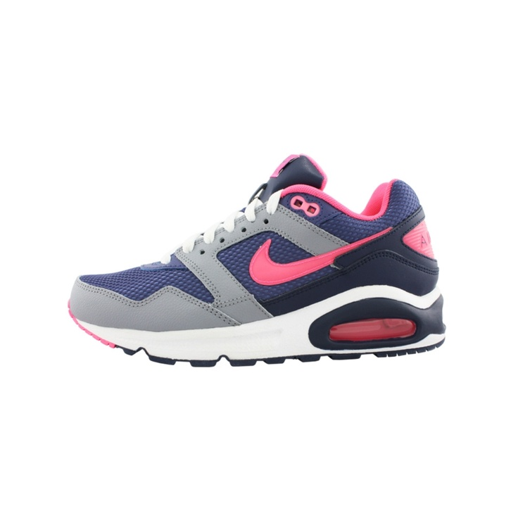 Womens Nike Air Max Navigate Athletic Shoe, BlueGrayPink Journeys Shoes size 8