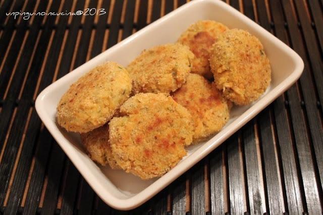 Crocchette di salmone e patate (Salmon and Potato Nuggets)