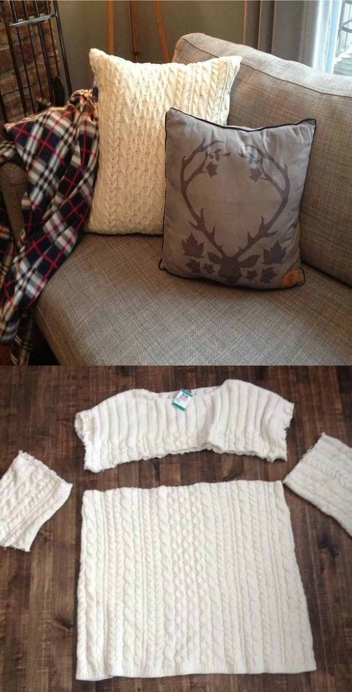 Cozy Sweater Pillow