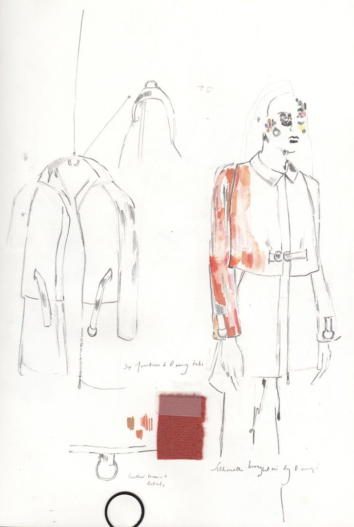 Fashion sketchbook - fashion design development; fashion sketches; fashion portfolio // Alexandra Baldwin