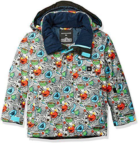 Quiksilver Little Boys' Mission Kids Snow Jacket