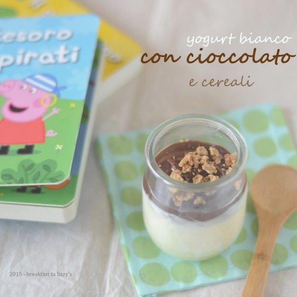 yogurt cioccolato e cereali