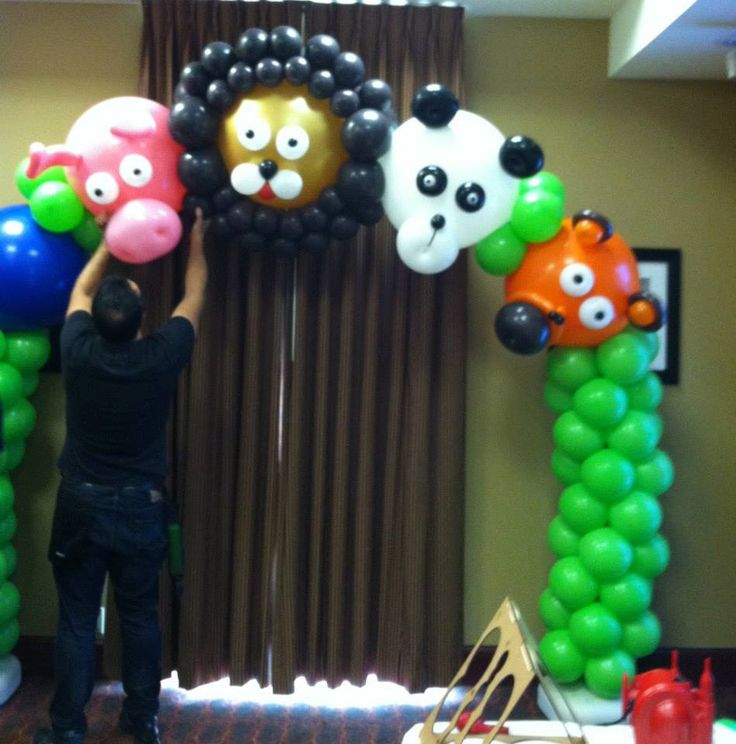 17 best images about balloon arch column kits on for Balloon arch decoration kit