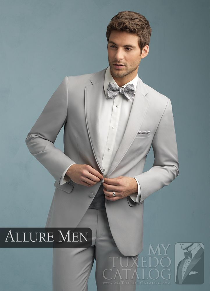 Asheville Tuxedo by Mitchell's - 'Bartlett' - Cement Grey - Allure Men - Slim Fit