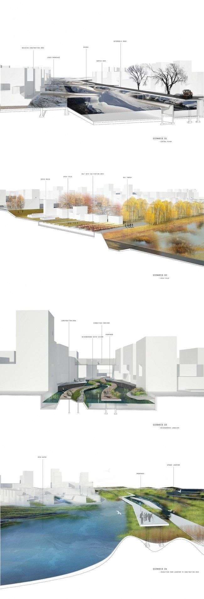 Conceptlandscape photo architectural presentations - Point p herblay ...