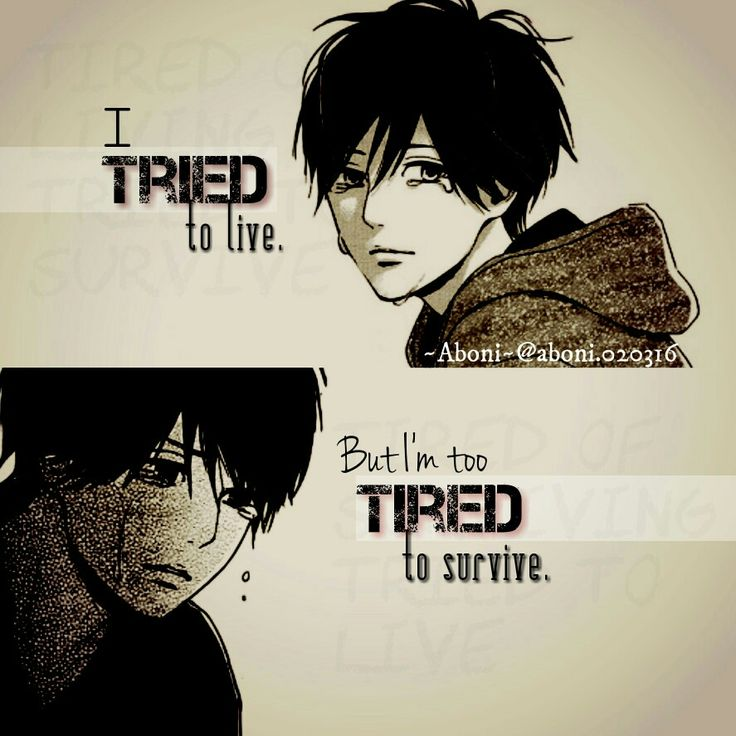 Sad Quotes About Depression: The 25+ Best Sad Anime Quotes Ideas On Pinterest