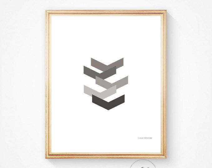Best 25+ Chevron wall art ideas on Pinterest   Chevron ...