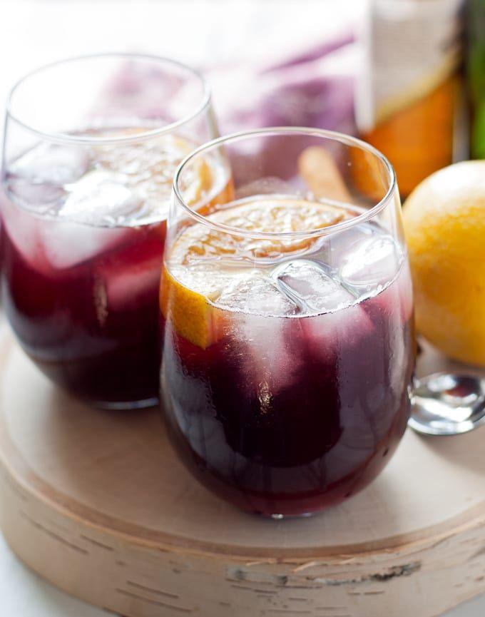 Orange Red Wine Spritzer » Honey and Birch