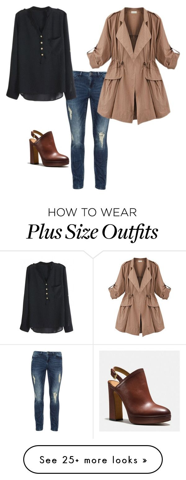"""""""It started with a shoe :)"""" by dannie-trudeau on Polyvore featuring Coach, JunaRose and WithChic"""
