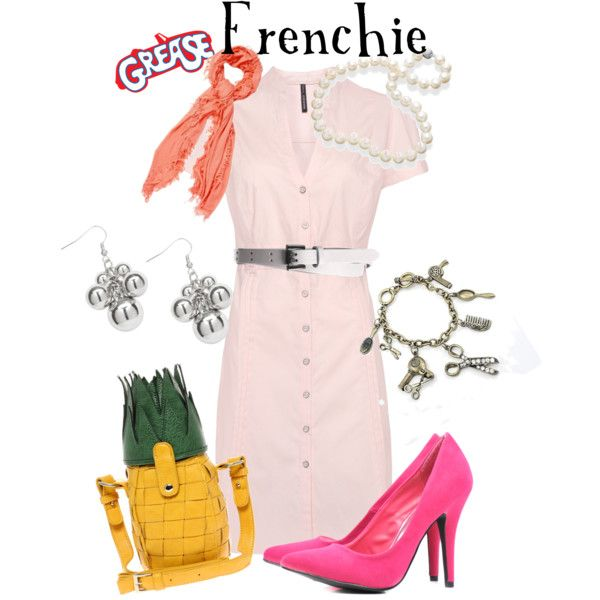Frenchie - Grease, created by marybethschultz on Polyvore