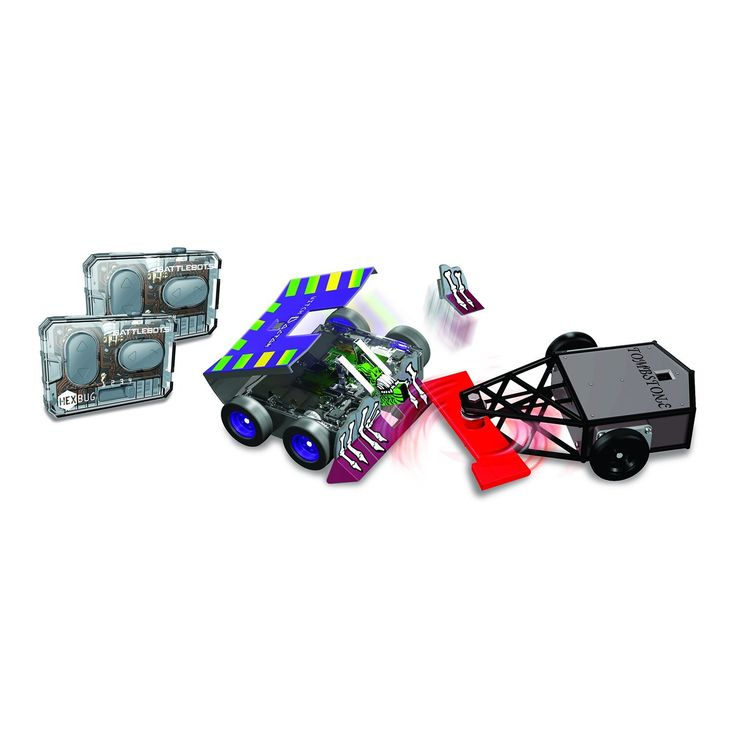 Amazon.com: HEXBUG BattleBots Rivals (IR) 2 Pk Toy: Toys & Games