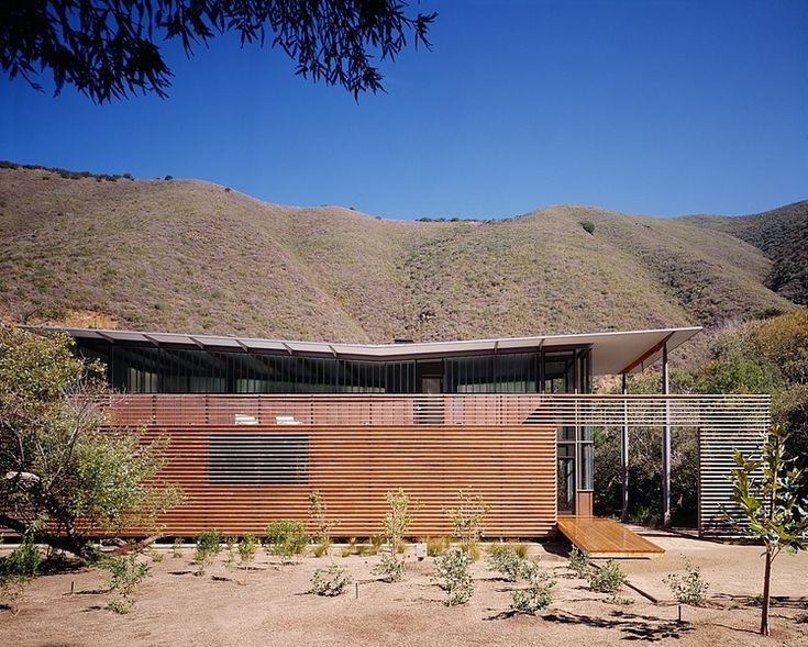 Perfect Jackson Family Retreat By Fougeron Architecture LOVE The Solar Scrim...nice Butterfly  Roof Design Ideas