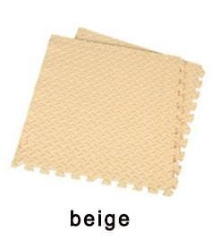10pcs Children's Soft Developing Crawling Rug,Baby Beige Coffee Interlocking Puzzle EVA Foam Mat,Pad Floor For Baby Games Carpet